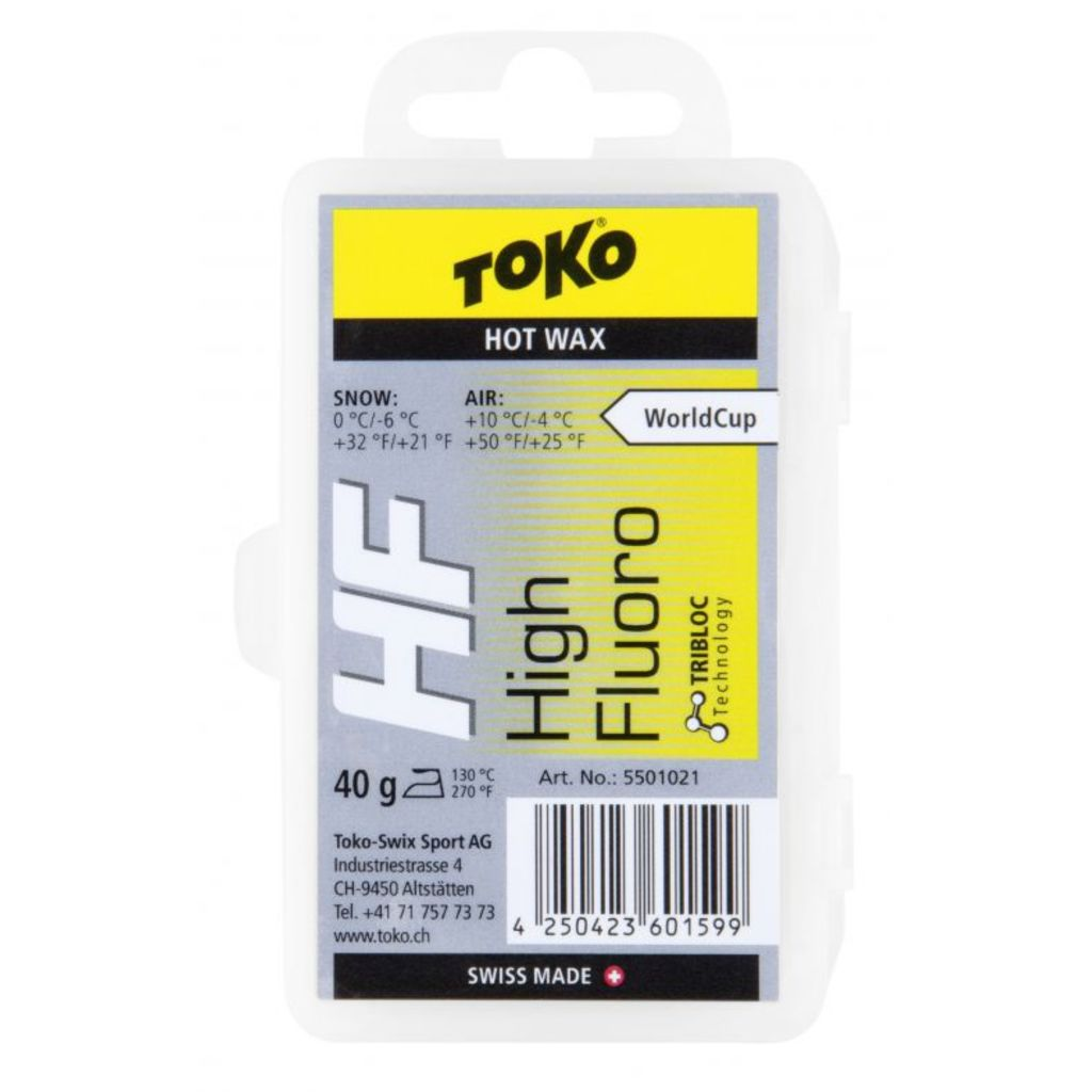 Toko wosk zjazdowy HF Hot Wax Yellow