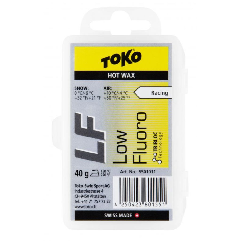 Toko wosk zjazdowy LF Hot Wax Yellow