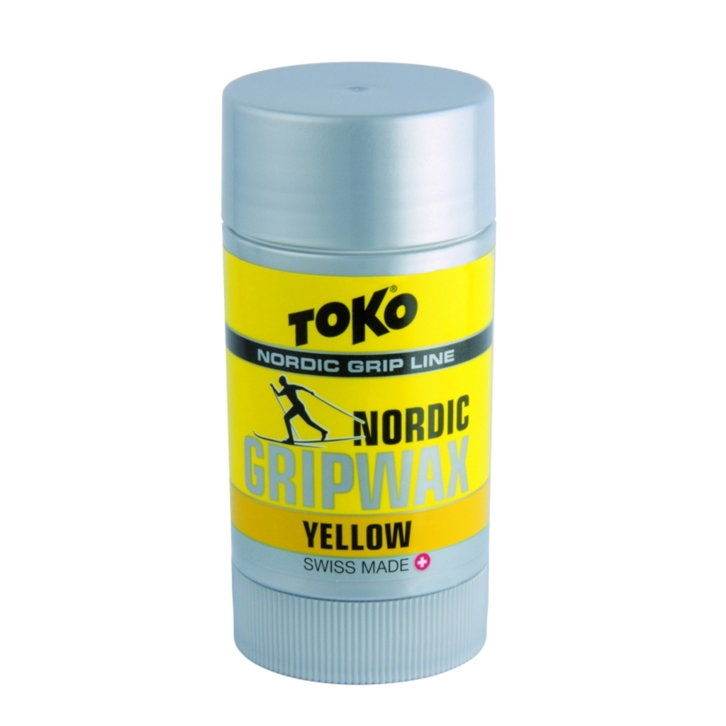 Toko wosk do podchodzenia Nordic Grip Wax 25g, Yellow