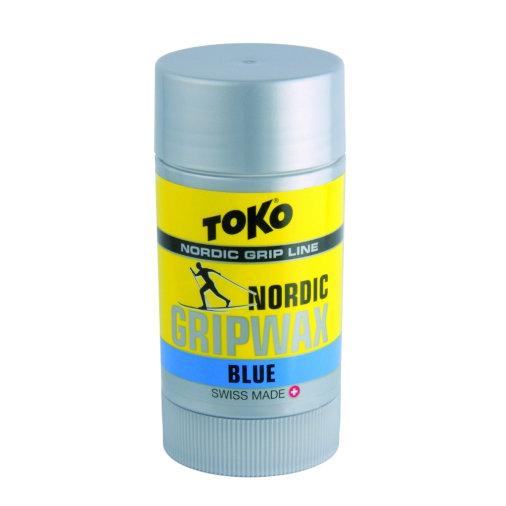Toko wosk do biegówek Nordic Grip Wax 25g, Blue