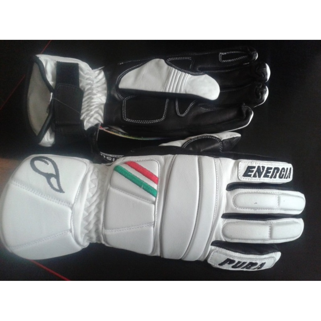 Energiapura Slalom Leather Gloves with Protectors