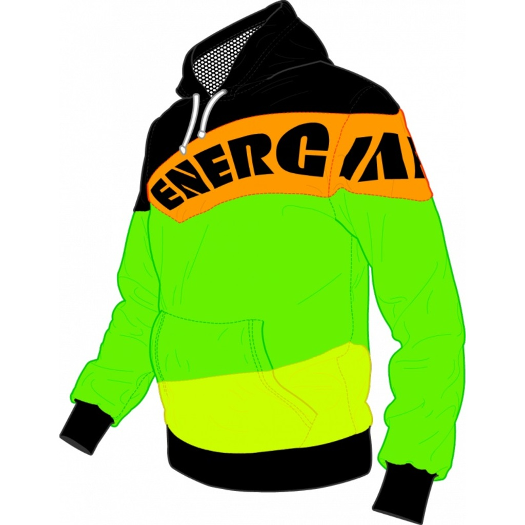 Energiapura Sweatshirt Workout Fluo JR