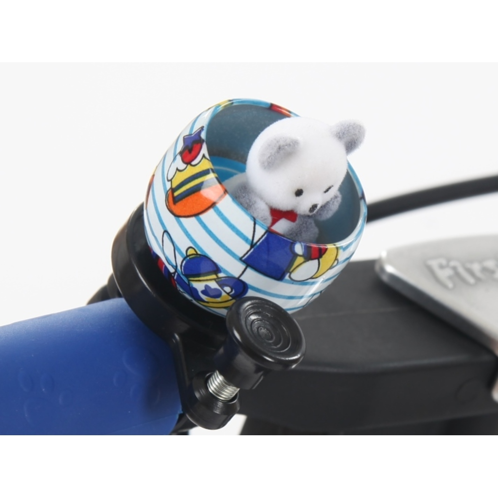 First BIKE Bell Teddy Bear