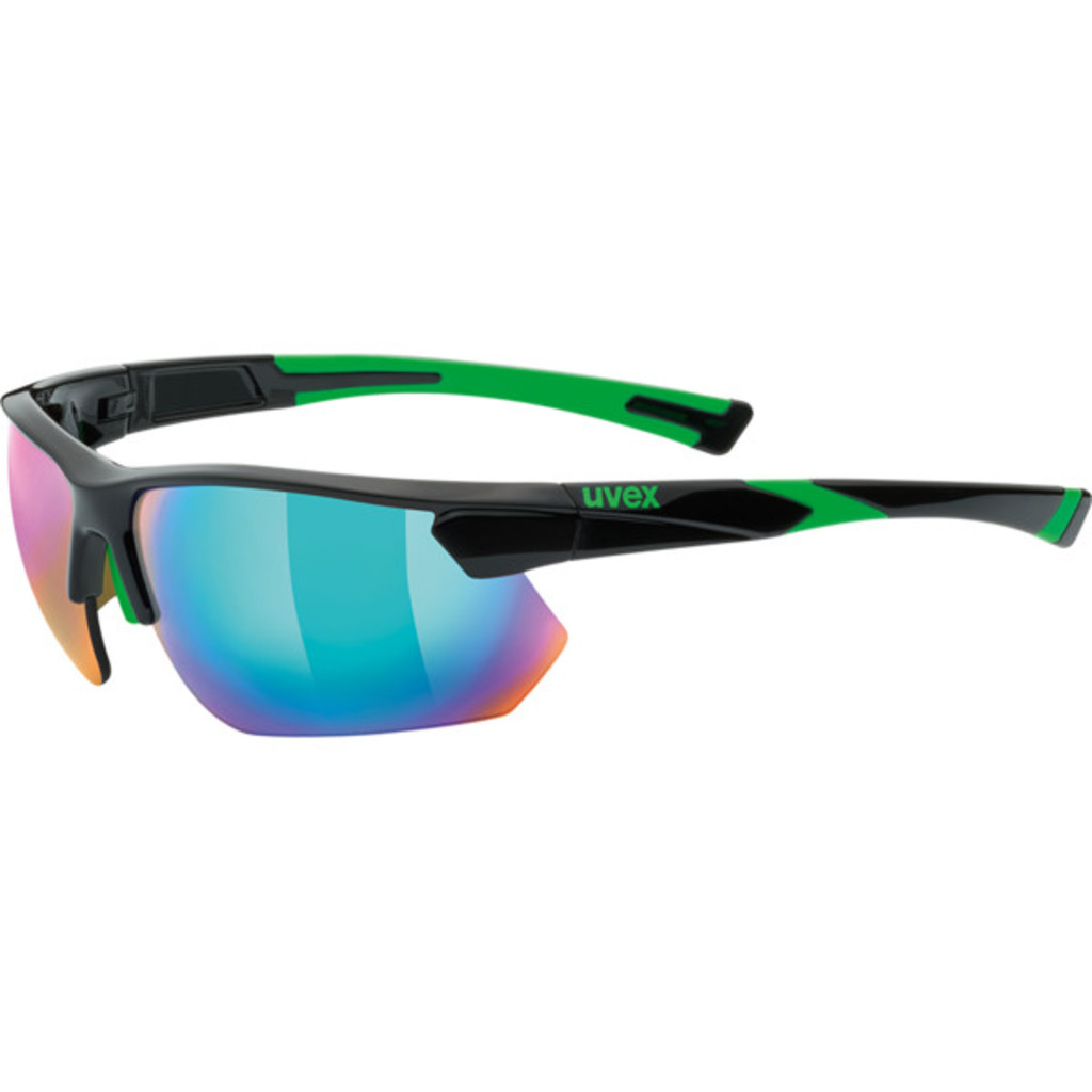 Uvex Sportstyle 221 Black/Green