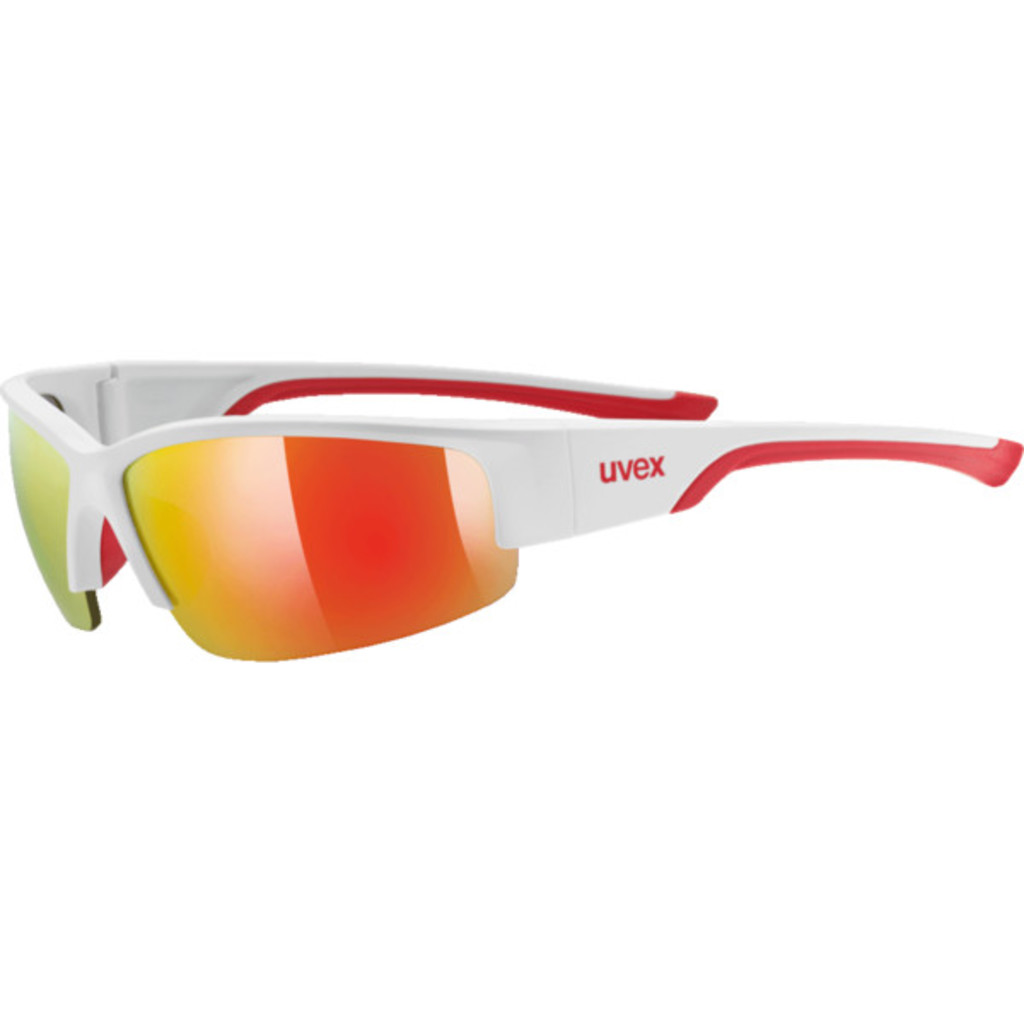 Uvex Sportstyle 215 White/Mat/Red