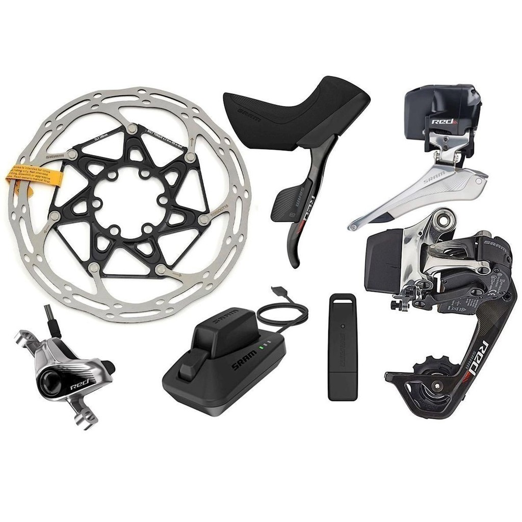 SRAM AM Red eTAP 2X11 Groupset HRD WiFLi