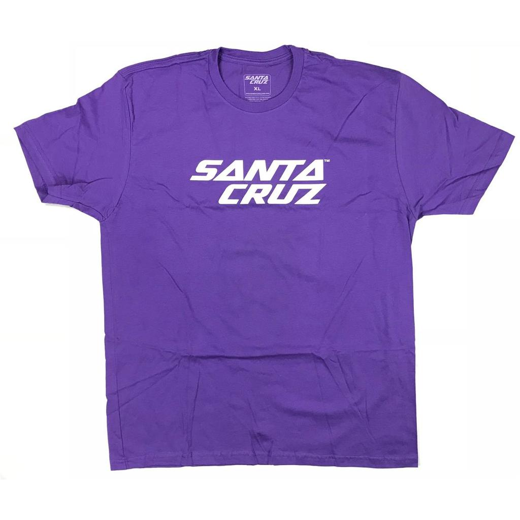 Santa Cruz STRIP LOGO TEE