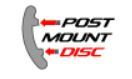 Post Mount Disc